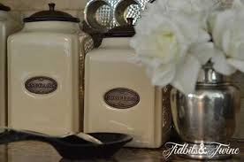 canisters for kitchen counter how to decorate a kitchen stylish and practical ways to