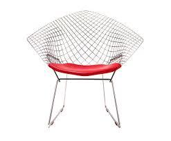 silla diamond el italiano harry bertoia creó esta silla en 1952
