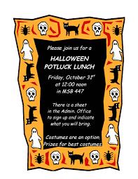 potluck halloween invitations u2013 halloween wizard