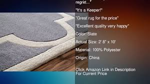 nuloom grey handmade luna moroccan trellis rug 2 feet 6 inches x