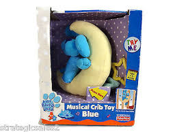 baby blues clues on moon musical crib toy fisher price what u0027s it
