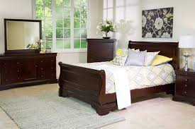 the versailles bedroom collection in merlot mor furniture for less