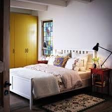 brusali bed frame with 4 storage boxes brown bed frames