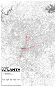 Marta Atlanta Map 11 Atlanta Intermodality