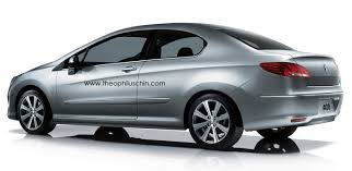 peugeot two door car peugeot 408 coupe u2013 rendering offers a two door take image 114442