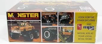mpc 852 datsun monster truck 1 25 plastic truck model kit