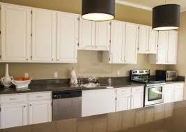 Laminated Timber Floor Rectangle Brown Wooden Islands White Kitchen Cabinets With Dark