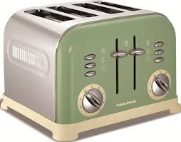 Morphy Richards Accents Red 4 Slice Toaster Buy Morphy Richards 242001 Accents Sage Green 4 Slice Toaster