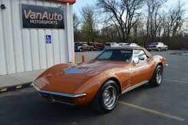 1972 corvette stingray 454 for sale chevrolet corvette convertible 1972 orange for sale 1z67w2s519664