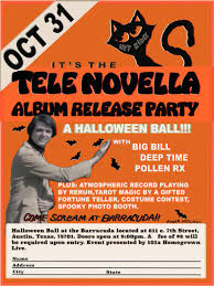 a halloween ball tele novella lp release w big bill deep time
