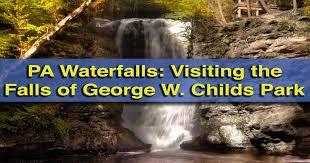Delaware waterfalls images Uncoveringpa pennsylvania waterfalls the falls of george w jpg