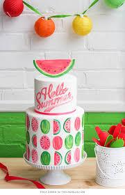 Watermelon Cake Decorating Ideas Watermelon Cake