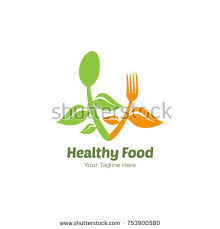 Organic Kitchen Utensils - nature food logo stock vector 649868419 shutterstock