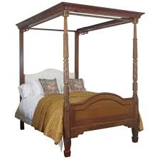 Four Poster Bed Bedroom Design Inviting Full Size Four Poster Bed With Golden