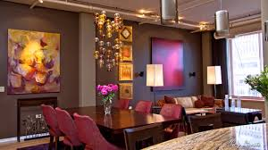 dining room light fixtures ideas brown wall flower vase cushions