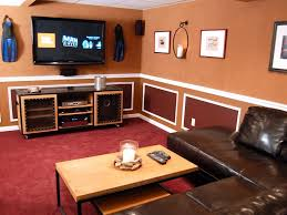 Home Theater Projector Small Room Interior Small Home Theater Family Room Ideas Curved Red Leather