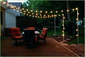 how to hang outdoor string lights on patio hanging outdoor patio string lights fooru me