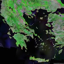 Where Is Greece On The World Map by Greece Map And Satellite Image