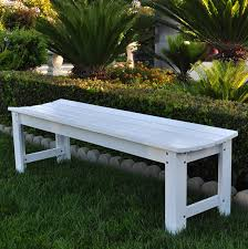 Outdoor Table Ls 5 Ft Backless Garden Bench