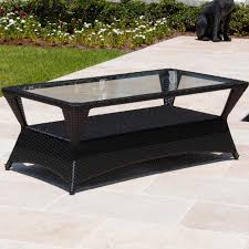 providence resin wicker patio coffee table by lakeview outdoor
