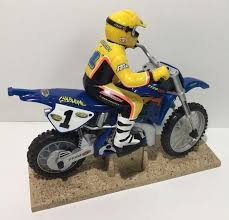 remote control motocross bike tyco rc x treme cycle jeremy mcgrath yamaha remote control