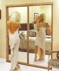 Cheap Closet Door Ideas Sliding Mirror Closet Doors Ideas Home Decorations Spots