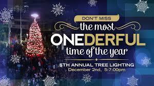 5th annual tree lighting one loudoun