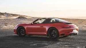 porsche 911 convertible 2018 2018 porsche 911 targa 4 gts color lava orange side hd