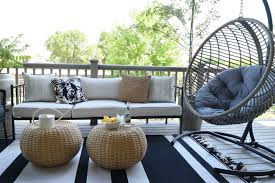 Living Spaces Chairs by Outdoor Patio And Living Space With Hanging Chair Nesting With Grace