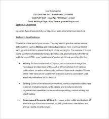Sample Freelance Writer Resume by Freelance Writer Resume Objective Examples Grant Writer Resume