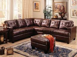 Leather Sectional Sofa Clearance Samuel Brown Leather Sectional Sofa By Coaster 500911