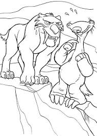ellie woolly mammoth animals ice age coloring pages