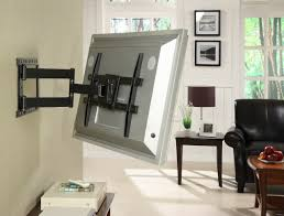 mounting a tv on the wall full motion flat screen tv mount 37 84