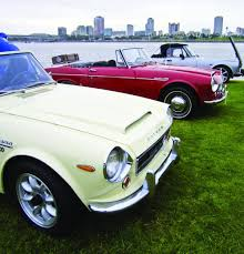 vintage datsun convertible lucky seven the annual japanese classic car show re hemmings