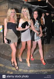 Livingroom Liverpool by 13 September 2012 Liverpool Abigail Clancy And Cousin Chloe Stock