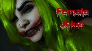 Joker Halloween Make Up Female Joker Halloween Makeup Series Beauty By Jannelle