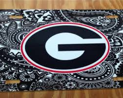 uga alumni car tag uga license plate etsy