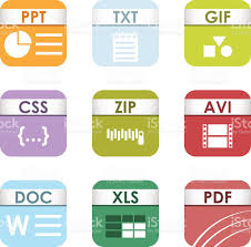 Spreadsheet Extension File Type Icons Vector Set Stock Vector Art 600133686 Istock