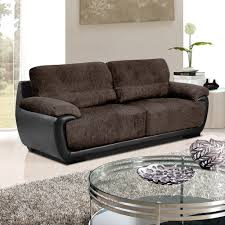 Brown Fabric Sofa Set Sofas Center Leather Fabric Sofas Suit Furniture And Sofa In L