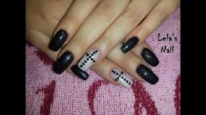 new goth nail art youtube