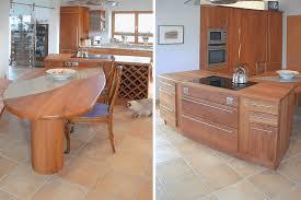 vollholzküche moderne vollholzküche in birnbaum