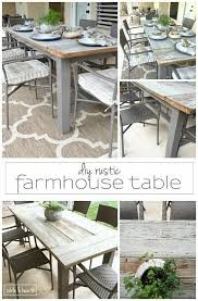 Diy Wood Dining Table Top by 25 Best Farmhouse Dining Tables Ideas On Pinterest Farmhouse