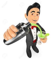 martini shaker clip art barman bow clipart explore pictures