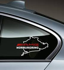 mercedes amg logo product amg nurburgring mercedes benz c55 clk e55 cls63 decal sticker