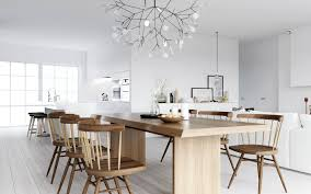 kitchen cheerful scandinavian kitchen design for european