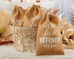 burlap favor bags rustic renaissance burlap personalized favor bag with drawstring
