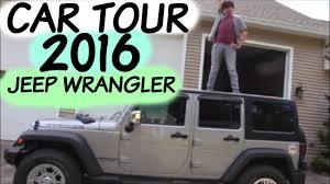 cute jeep wrangler car tour 2016 jeep wrangler youtube