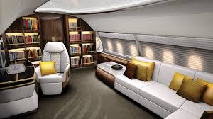 Aircraft Interior Design The Best Over The Top Aircraft Interiors