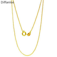 girl necklace size images Fashion width 0 8mm small size round shape chain for women lady jpg