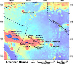 map samoa american samoa pacific islands benthic habitat mapping center